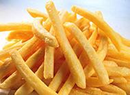 美味的椒盐薯条图片