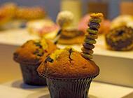 香甜可口的提子蛋糕图片