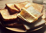 自制全麦吐司面包图片