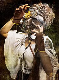 朋克风美女cosplay图片