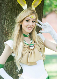 俄罗斯美女cosplay美少女战士