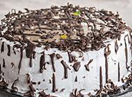 自制巧克力奶油蛋糕图片