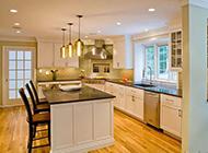 创意美式厨房装修效果图展现个性质感