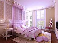 复式典雅欧式卧室装修效果图