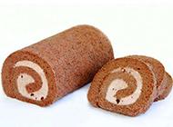 巧克力瑞士卷图片素材