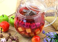 自制新鲜的水果红茶图片