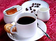 一杯哥伦比亚咖啡摄影图片