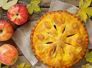 香喷喷的苹果馅饼图片