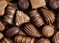 精美的巧克力甜食图片