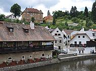 山清水秀的欧洲小镇风景图片