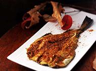 微辣的烧烤鳕鱼图片
