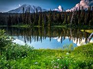 优美的大自然风景摄影图片
