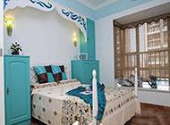 优雅的小户型卧室地中海风格装修图