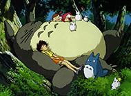 宫崎骏经典动漫可爱龙猫壁纸高清图片