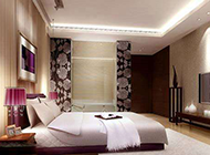 小户型主卧室现代风格装修图