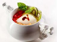 自制水果布丁甜品图片