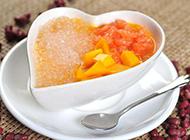 酸甜可口的芒果西米露图片