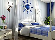精美地中海卧室装修图片赏析