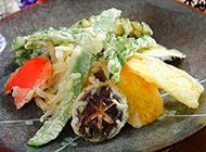 日本特色小吃蔬菜天妇罗图片