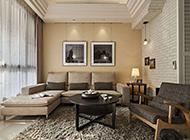 时尚现代韩式客厅装修效果图