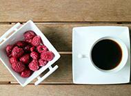 水果和咖啡实拍图片