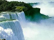 大自然的绝美瀑布风景图片