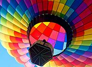浪漫热气球意境风景壁纸图片