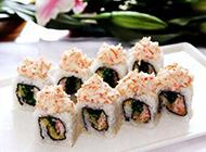 超好吃的美式寿司卷图片