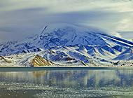 西藏雪山冰川白色风景图片
