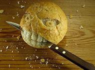 PS大神恶搞囧图之愤怒的面包