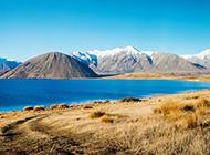 优美的新西兰山川湖泊风景壁纸