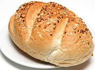 香酥芝麻面包超清图片