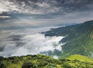 唯美的黄山云海风景图片