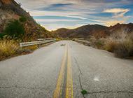 野外公路风景超清摄影图片