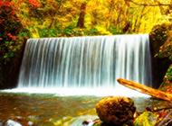 精选高清山水瀑布风景图片