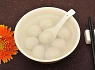 春节吃汤圆高清摄影图片
