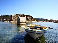 夏季美丽海岛山水风景图片