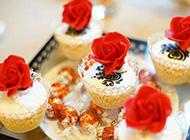 欧式婚礼小甜点唯美图片