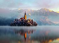 优美大自然山水四季风景壁纸