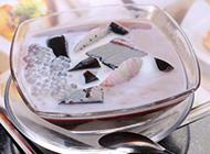 红豆椰汁西米龟苓膏图片