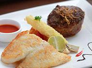 自制北海道鱼柳美食图片