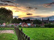 浪漫唯美荷兰乡村风景图片