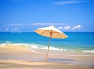 浪漫岛屿海滩风景高清图片