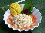 酸甜可口的芒果沙拉图片
