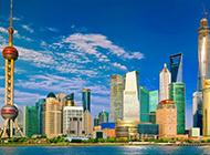 中国上海旅游城市风景图片
