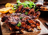 西式经典烤牛排高清图片