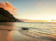 壮阔美丽的大海风景桌面壁纸