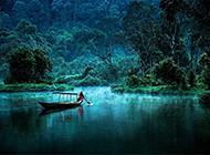 大自然秀丽山川湖泊养眼绿色风景壁纸