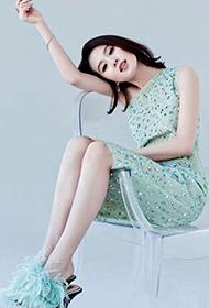 中国女明星刘诗诗清新淡雅写真
