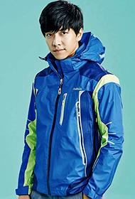 韩国男明星李胜基运动写真照